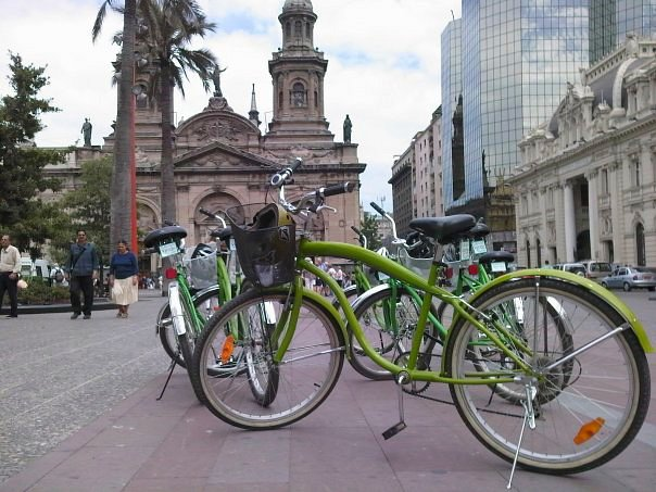 Explore Santiago On A Bike