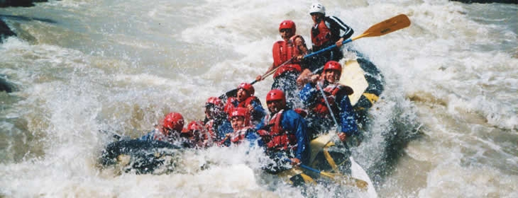Rafting In El Maipo River