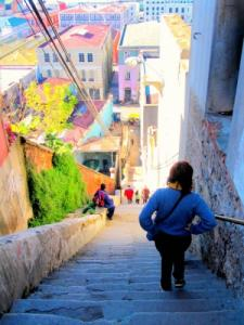 Stairs of Valparaiso